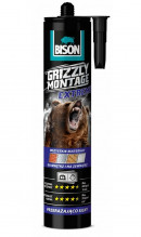 Lepidlo montážní BISON GRIZZLY MONTAGE EXTREME WHITE 435g