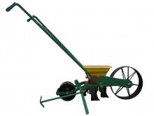 Secí strojek ruční TP-92/P2 pro výsev zeleniny a řepy, dvouřádkový