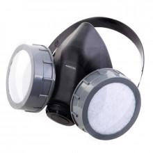 Ochranná polomaska AEROTEC, filtry aktivní uhlí