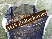 Zahradní vak na dřevo a štěpku 230 L, 600 kg MINI