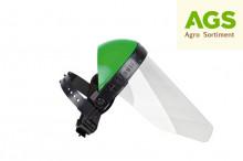 Ochranný štít RATIOPARTS zorník plexi, zelený