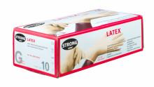 Rukavice pracovní jednorázové STRONG LATEX