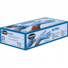 Rukavice pracovní jednorázové STRONG NITRIL 100 ks