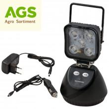 Pracovní svítilna AKU LED 220V/12/24V