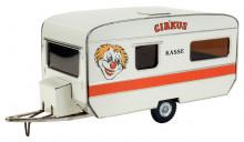 Obytný přívěs CARAVAN cirkus KOVAP 0650
