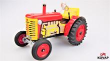 Traktor ZETOR SPZ KVP červený KOVAP 038120 C