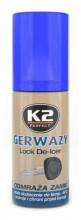 Rozmrazovač zámků K2 GERWAZY 50 ml spray
