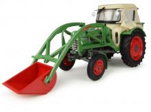 UNIVERSAL HOBBIES UH 4946 Traktor FENDT FARMER 2 s čelním nakladačem 1:32
