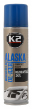 Rozmrazovač skel K2 ALASKA NANO 250 ml spray