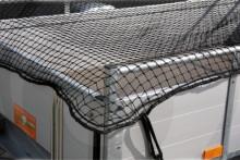 Síť ochranná na přívěsný vozík 2,5 x 4 m černá
