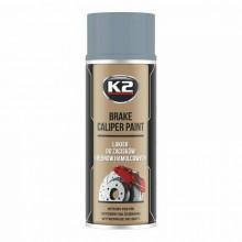 Barva K2 BRAKE CALIPER PAINT na brzdy 400 ml stříbrná