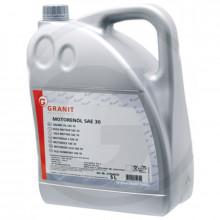 Olej GRANIT motorový SAE 30 5L