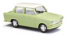 BUSCH 53106 Auto Trabant P601 Limousine zelený 1:87