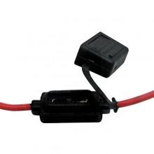 Kabel s držákem pro nožovou pojistku 12 - 24V MAXI