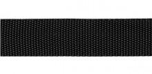 Upínací popruh 25 mm 1000 kg černý metráž