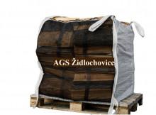 Zahradní vak na dřevo a štěpku 810 L, 1000 kg