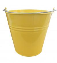 Kbelík 7L lakovaný žlutý