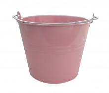 Kbelík 7L lakovaný růžový
