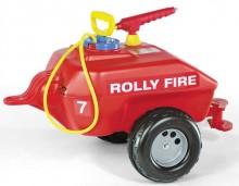 Cisterna požární se stříkačkou ROLLY FIRE za šlapací traktory ROLLY TOYS