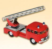 Auto MB 335 hasiči s vysunovacím žebříkem