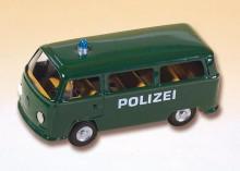 Auto VW policie zelené