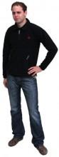 Mikina pánská GRANIT fleecová černá