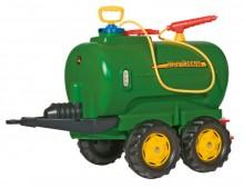 Cisterna se stříkačkou JOHN DEERE JUMBO za šlapací traktory ROLLY TOYS