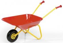 Zahradní dětské kolečko plechové červené ROLLY TOYS