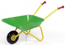 Zahradní dětské kolečko plechové zelené ROLLY TOYS
