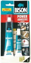 Lepidlo BISON POWER ADHESIVE polyurethan 62,5 ml