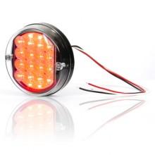 Mlhovka diodová zadní kulatá LED 24V WAS 169
