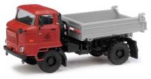 Nákladní auto IFA L60 3SK ND sklopka červená BUSCH