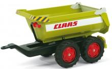 Návěs traktorový kontejnerový CLAAS za šlapací traktory ROLLY TOYS