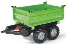 Návěs sklopný MEGA DEUTZ FAHR za šlapací traktory ROLLY TOYS