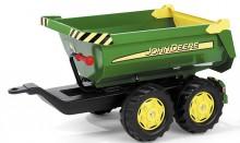 Návěs traktorový kontejnerový JOHN DEERE za šlapací traktory ROLLY TOYS