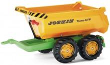Návěs traktorový kontejnerový JOSKIN za šlapací traktory ROLLY TOYS