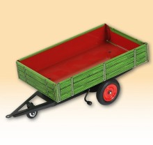 Návěs traktorový jednoosý FENDT