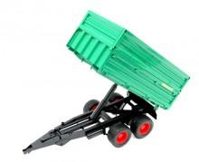 Návěs traktorový WELGER zelený BRUDER 02010