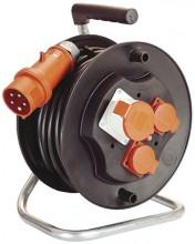 Naviják s elektrokabelem kombinovaný 400V/230V 20 m cívka