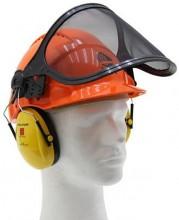 Ochranná lesnická helma PELTOR oranžová