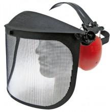 Ochranný štít s ochranou sluchu GRANIT zorník síťovaný
