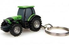 Přívěsek na klíček Traktor DEUTZ FAHR AGROTRON TTV 7250