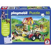Puzzle PLAYMOBIL zemědělský statek 60 dílů