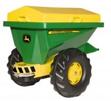Rozmetadlo JOHN DEERE STREUMAX za šlapací traktory ROLLY TOYS
