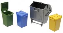 Sada popelnic a kontejnerů BRUDER 02606