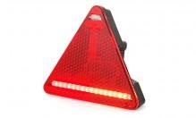 Svítilna diodová zadní 12/24 V LED tojuhelník P