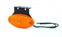 Svítilna poziční oranžová jednofunkční diodová LED 12/24V