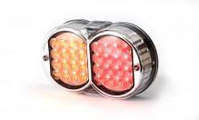Svítilna zadní oválná LED 12V/24 WAS 226 W41