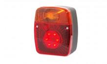 Svítilna kombinovaná zadní LED 12V/24V WAS 477 levá