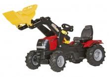 Traktor šlapací CASE PUMA CVX 225 s čelním nakladačem ROLLY TOYS